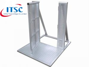 stage barrier gate cost
