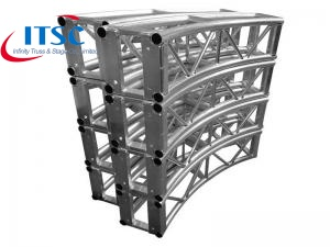 curved truss structure
