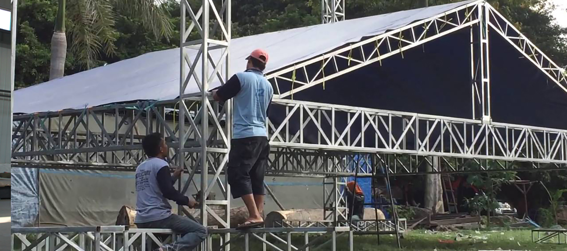 Triangular Stage Roof Ssystem for Sale